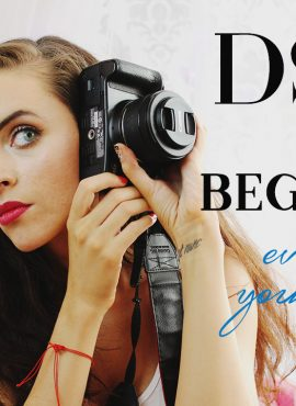 DSLR for beginners + everything, you need to know in 1 picture!