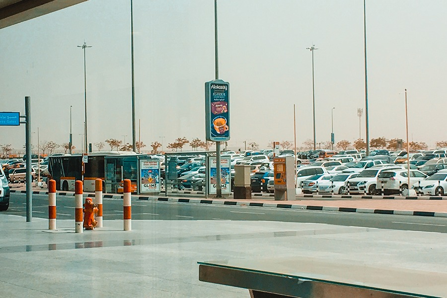 dubai airport bus station